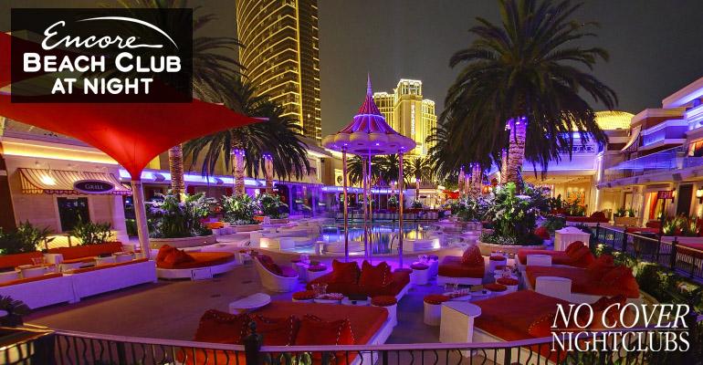 EBC At Night Las Vegas